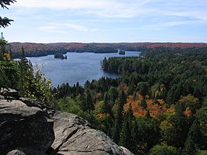 Algonquin Cache Lake Lookout