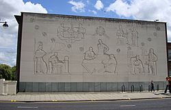 Bridge House Mural, Peterborough