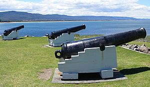 Flagstaff Hill Fort.