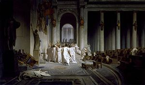 Jean-Léon Gérôme - The Death of Caesar - Walters 37884