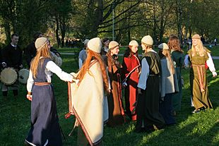 Lithuanian folklore performance