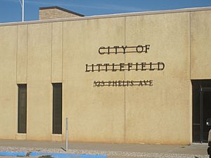 Littlefield, TX, City Hall IMG 4767