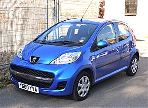 Peugeot 107 - Flickr - mick - Lumix