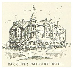US-TX(1891) p826 OAK CLIFF, HOTEL