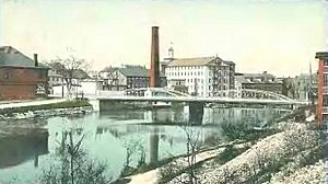 Valley Falls, RI in 1906