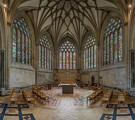 Wells Cathedral Lady Chapel, Somerset, UK - Diliff