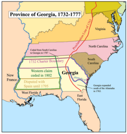 Georgia Map For Kids.Province Of Georgia Facts For Kids