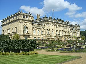 Harewood House, seen from the garden