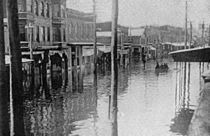 Main Street 1902 Flood