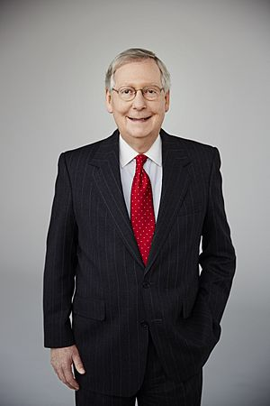 Mitch McConnell 2016 official photo