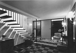 Schmidt-lademann-house entrance-hall 1959