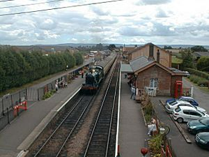 Bishops Lydeard Station, West Somerset Railway - geograph.org.uk - 2403