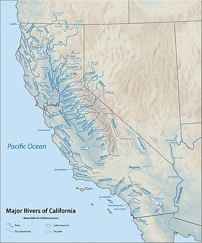 List Of Rivers Of California Facts For Kids