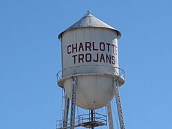 The Charlotte Trojans are the school teams in Charlotte, Texas