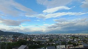 Cityscapes of Matsumoto in 2014-8 No,5