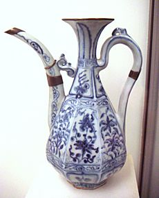 Early blue and white ware circa 1335 Jingdezhen