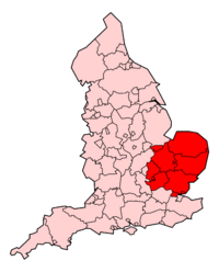 East-of-England-Ambulance-Service-map