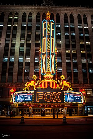 Fox Theatre at Night