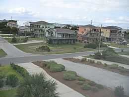 Houses at Emerald Isle, North Carolina