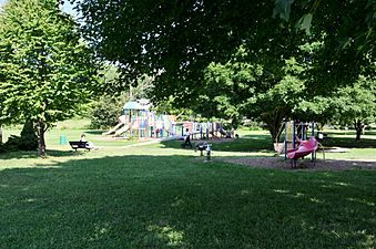 Play areas in Swift Memorial Park