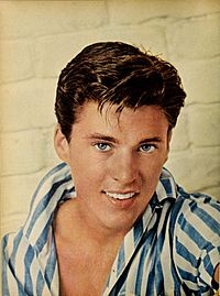 Ricky Nelson - Modern Screen, Feb. 1958