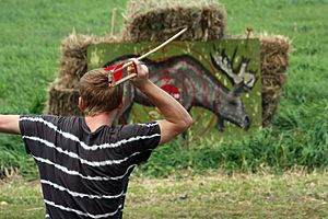 Chimney point atlatl competition