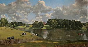 John Constable - Wivenhoe Park, Essex - Google Art Project