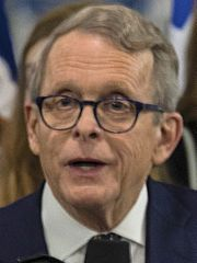 Mike DeWine on Jan 13, 2019 at the National Museum of the U.S. Air Force (cropped)