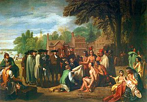 Treaty of Penn with Indians by Benjamin West