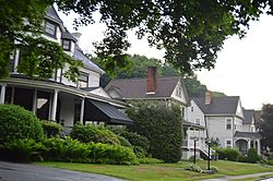 Houses on Allegheny Avenue