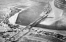 Anaheim Landing aerial photo, Seal Beach, circa 1930s
