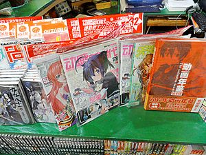 Anime New Type in a Bookstore 20130123