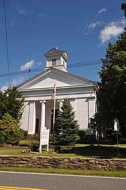 Historic church in Cokesbury