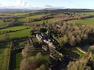Hestercombe Grounds from Air