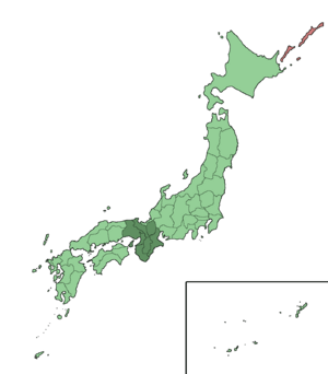 Japan Kinki Region large trans