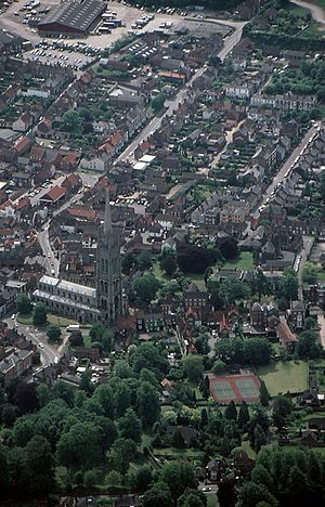 Louth from the Air - geograph.org.uk - 625313