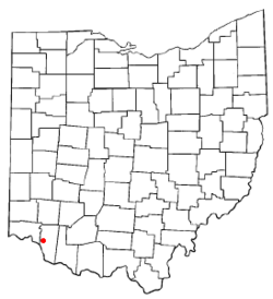 Location of Withamsville, Ohio