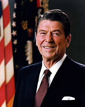Official Portrait of President Reagan 1981