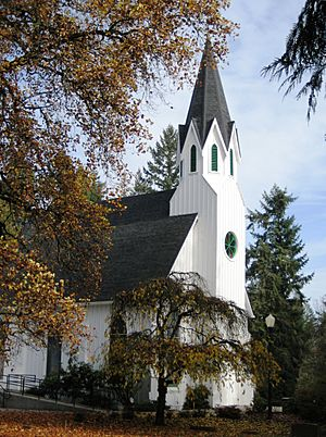 Old Scotch Church autumn - Hillsboro Oregon