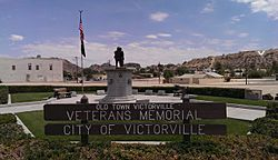 Old Town Victorville-Veteran's Memorial-Seventh St-Forrest Ave