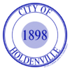 Official seal of Holdenville, Oklahoma