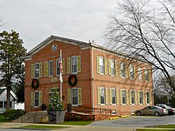 Former school and Town Hall on Clinton Street