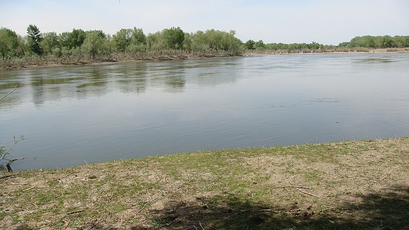 Irtysh River landscape in the Burqin 02