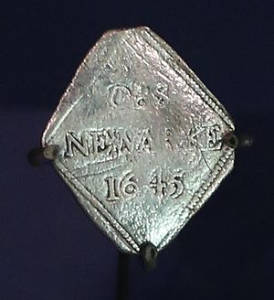 Siege piece shilling from Newark-on-Trent