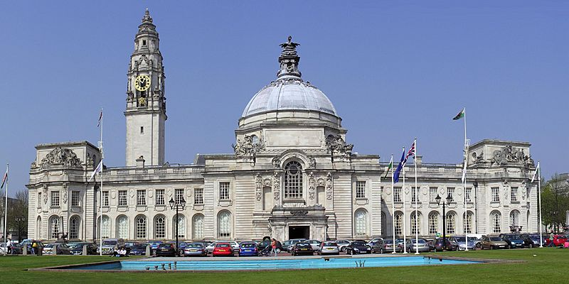 Cardiff City Hall cropped