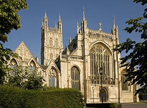 Gloucester Cathedral exterior front