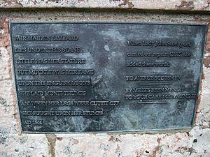 Plaque on Lilliards Stone (geograph 3068914)