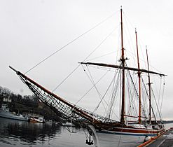 Tallship Christiania Oslo Norway photo D Ramey Logan