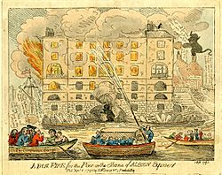 A bon fire for the poor or the shame of Albion exposed