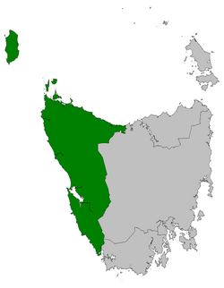 Braddon electorate 2009.png